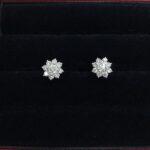 鑽石耳環流當拍賣